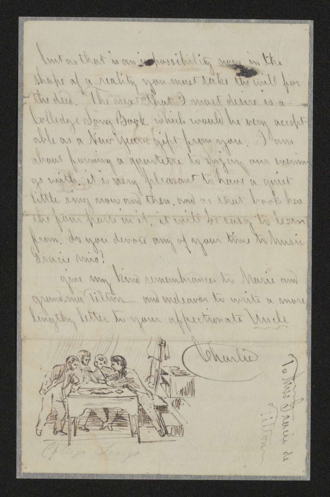 Charles Wellington Reed Papers: Correspondence; 1863; Jan.-Mar.