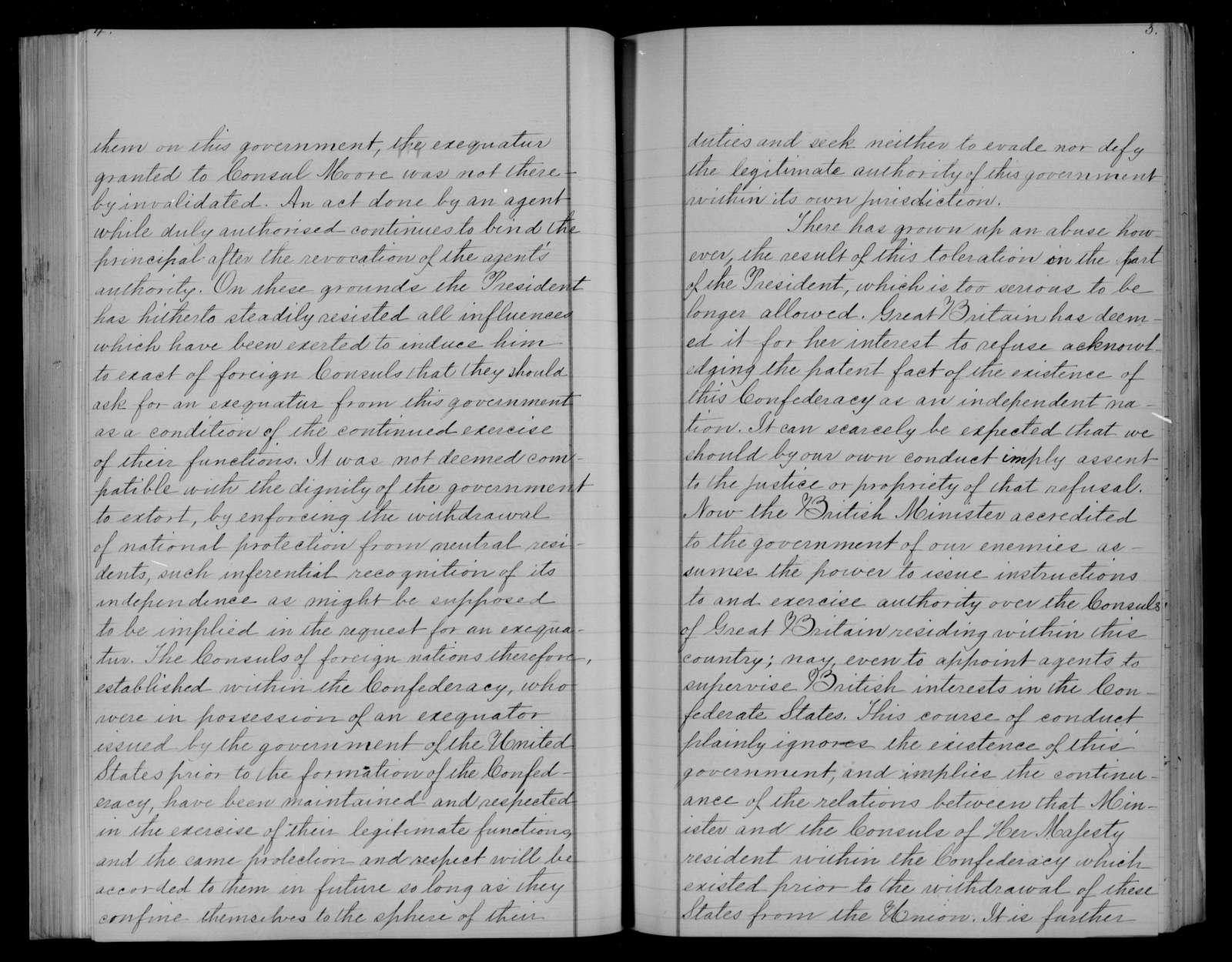 Confederate States of America records: Microfilm Reel 33