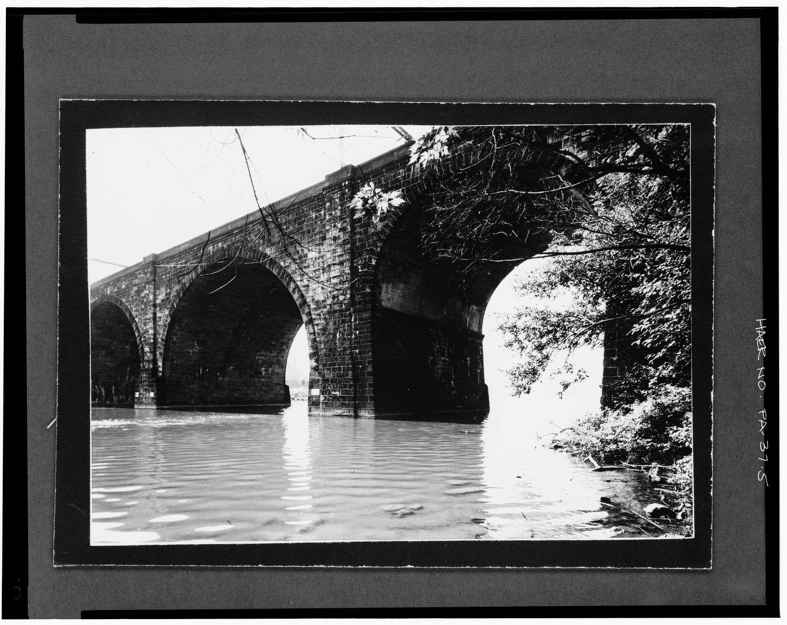 Connecting Railway, Schuylkill River Bridge, Spanning Schuylkill River, north of Girard Avenue Bridge, Philadelphia, Philadelphia County, PA