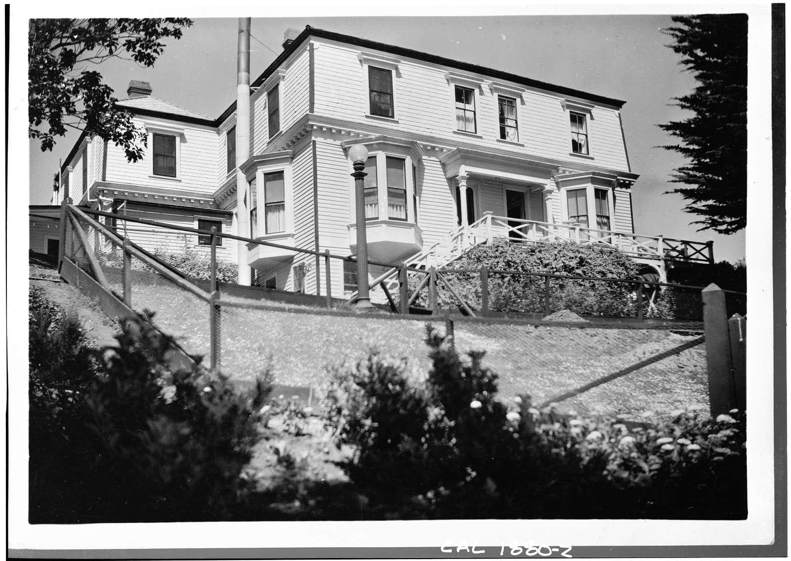 Fort Mason, Quarters No. 4, San Francisco, San Francisco County, CA