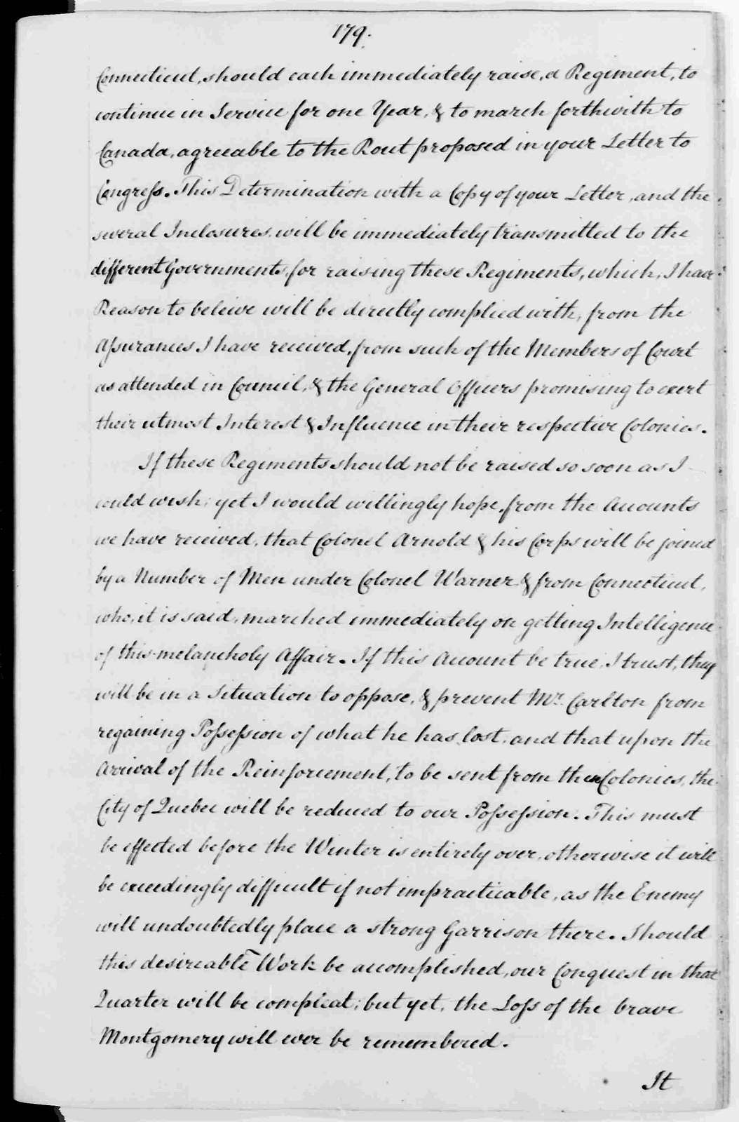George Washington Papers, Series 3, Varick Transcripts, 1775-1785, Subseries 3B, Continental and State Military Personnel, 1775-1783, Letterbook 1: June 25, 1775 - July 31, 1776