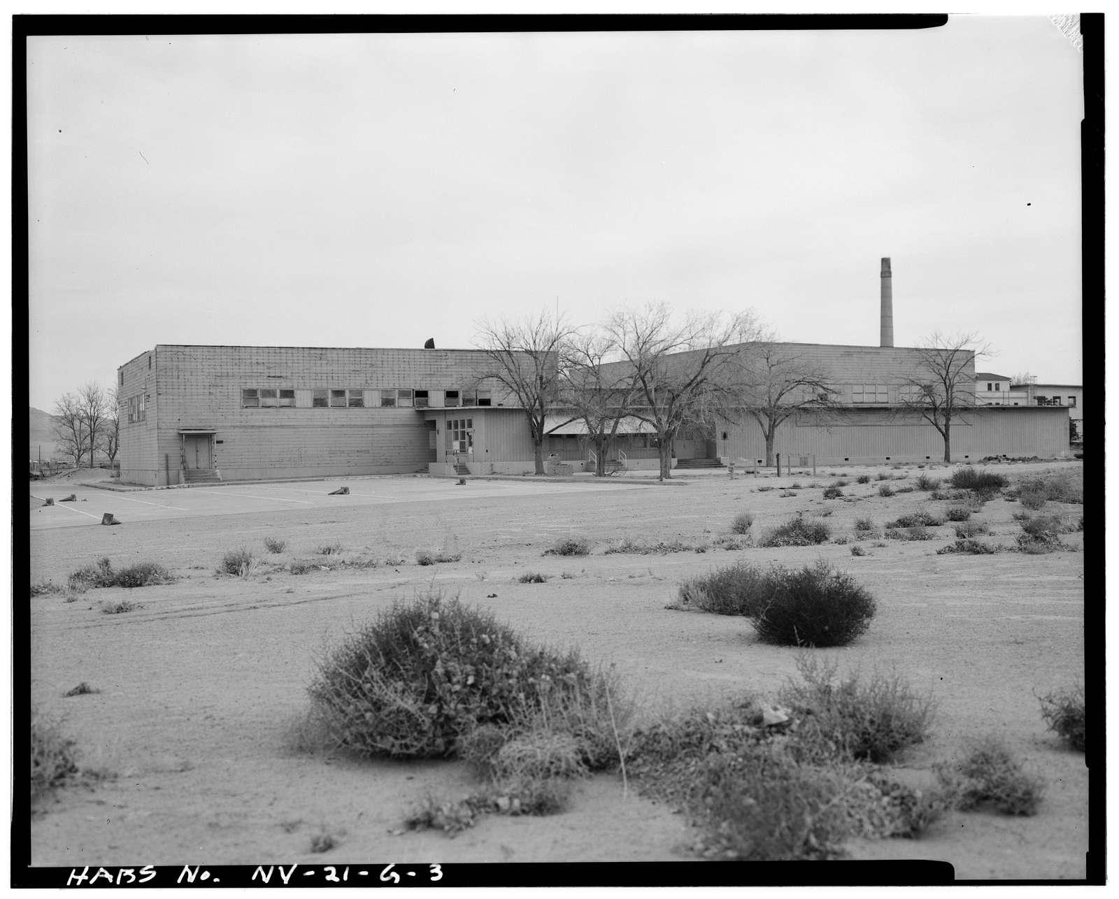 Hawthorne Naval Ammunition Depot, Gymnasium, North Main Avenue, Industrial Area, Hawthorne Army Ammunition Plant, Hawthorne, Mineral County, NV