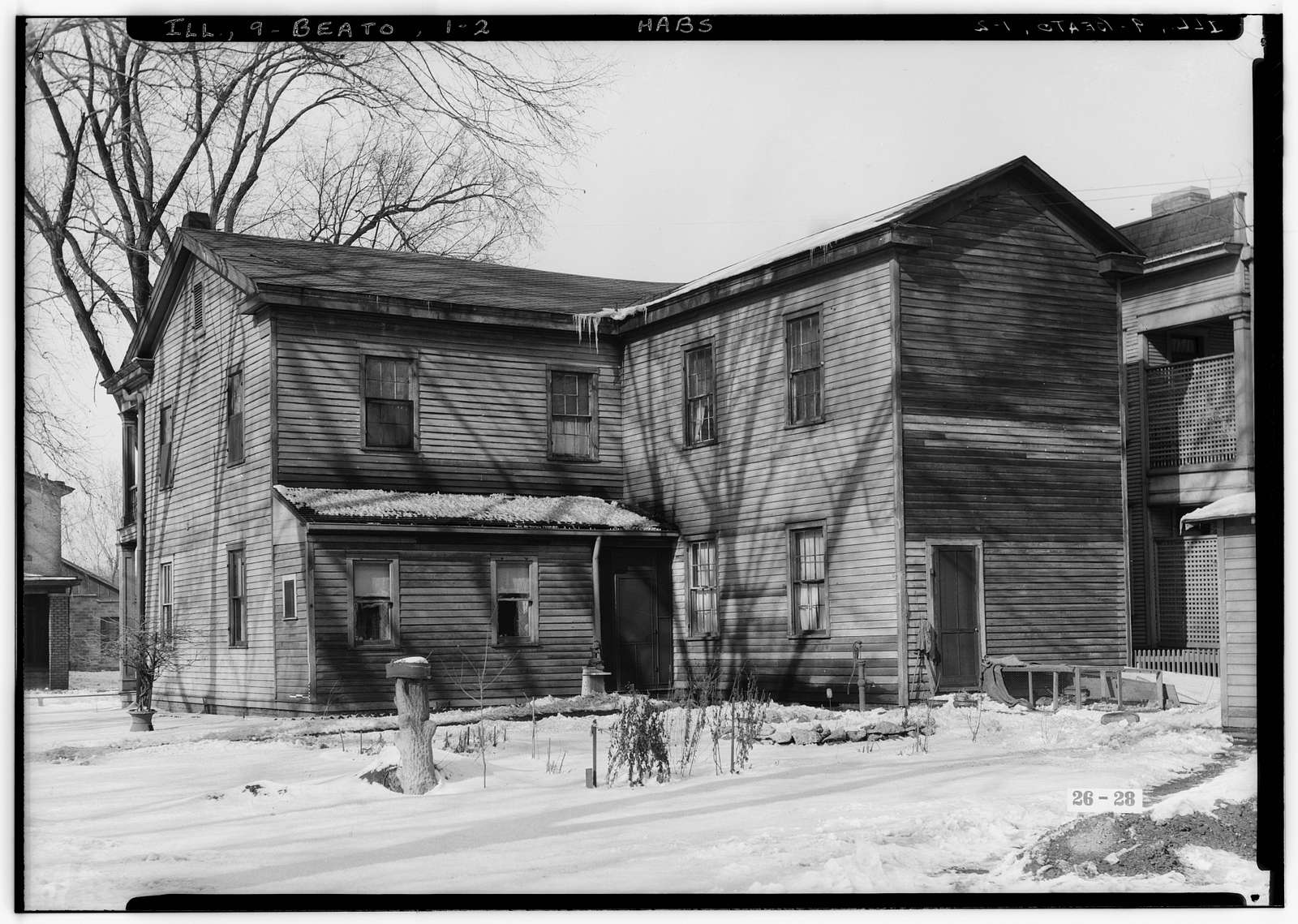 Horace Billings House, Lafayette & Third Streets, Beardstown, Cass County, IL