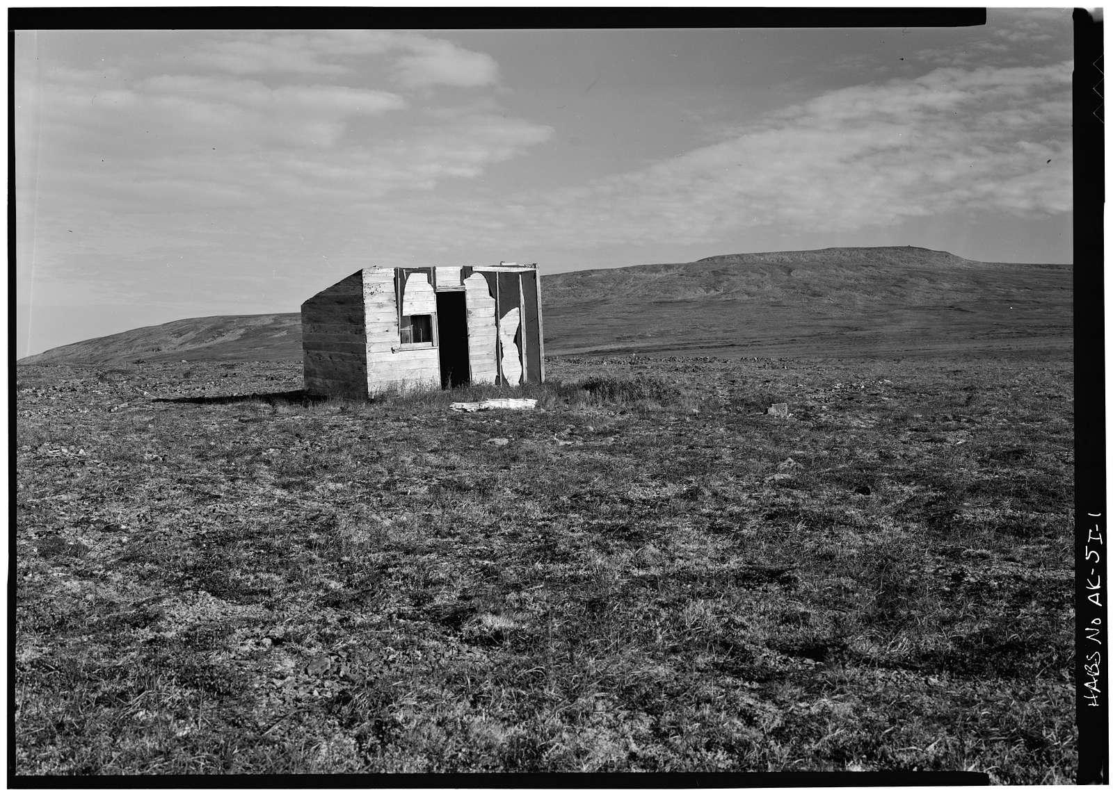 Iditarod Trail Shelter Cabins, Summit Shelter Cabin, Skwentna, Matanuska-Susitna Borough, AK