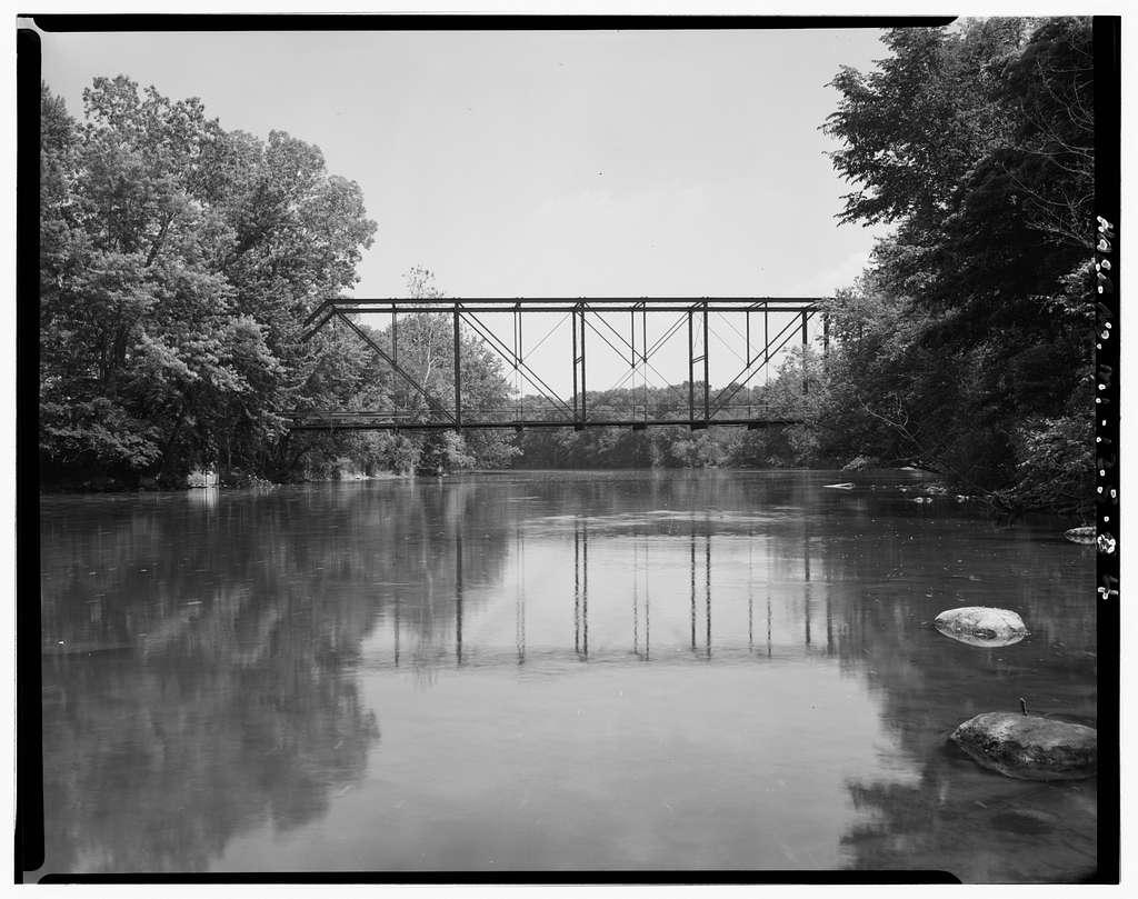 Jones Road Bridge, Spanning Grand River, Eagle, Clinton County, MI