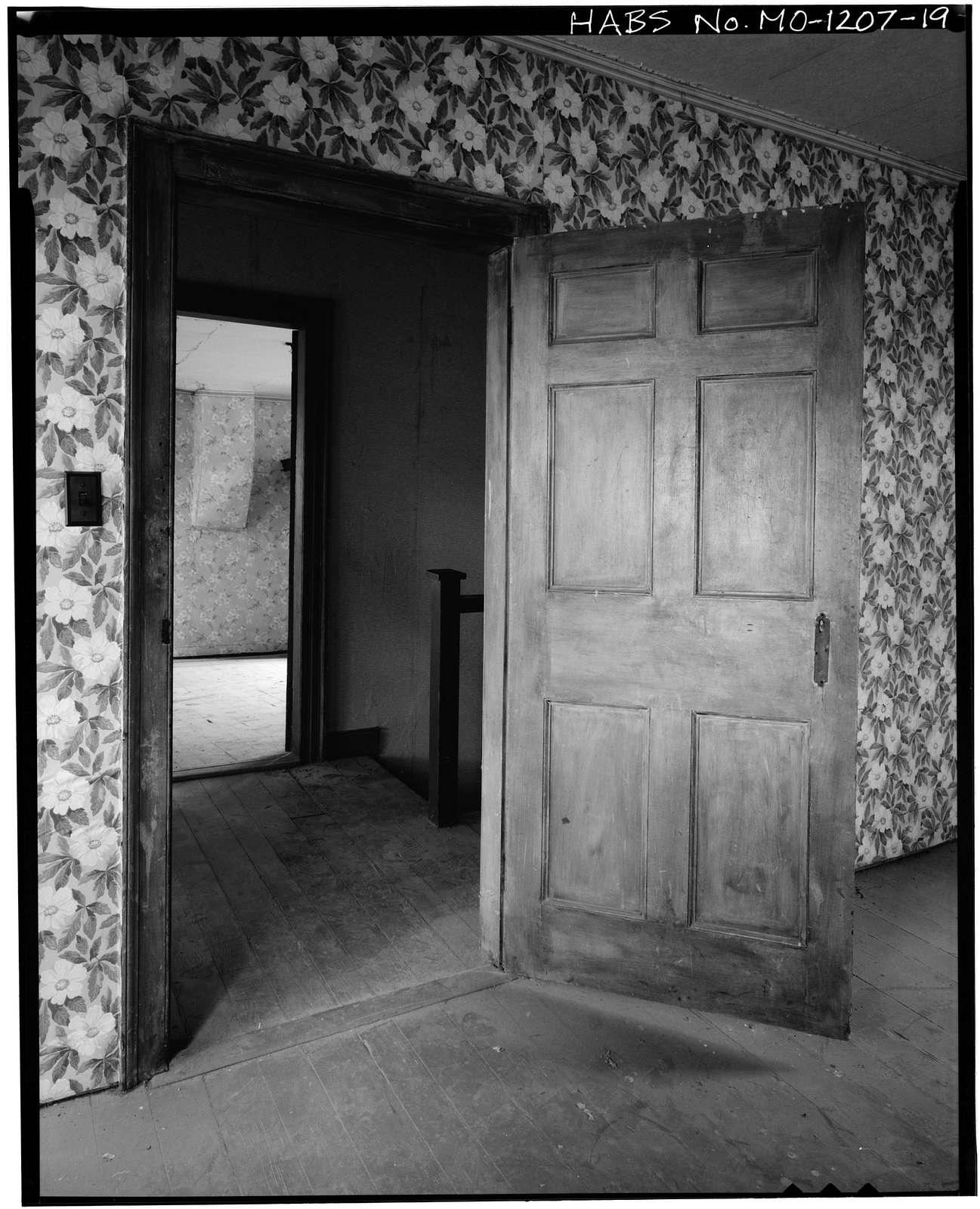 Matthew Mappin House, County Route U, Goss, Monroe County, MO