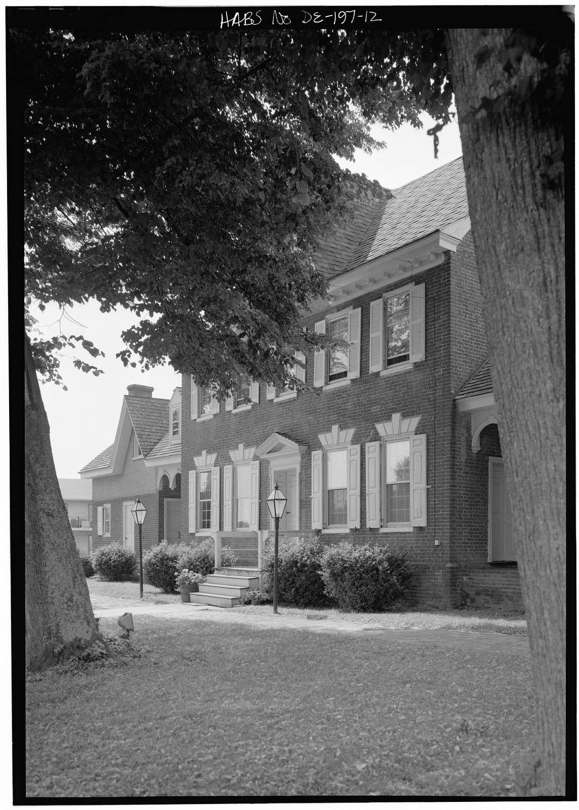Parson Thorne Mansion, 501 Northwest Front Street, Milford, Sussex County, DE