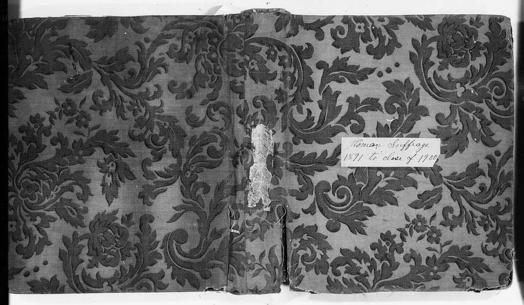 Susan B. Anthony Papers: Scrapbooks, 1876-1934; 1876-1903