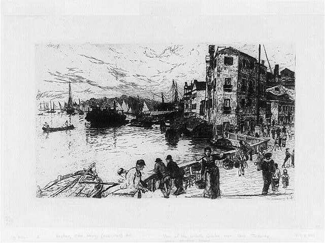 View of the Castello Quarter near Casa Jankovitz, where Whistler lodged, [Venice]