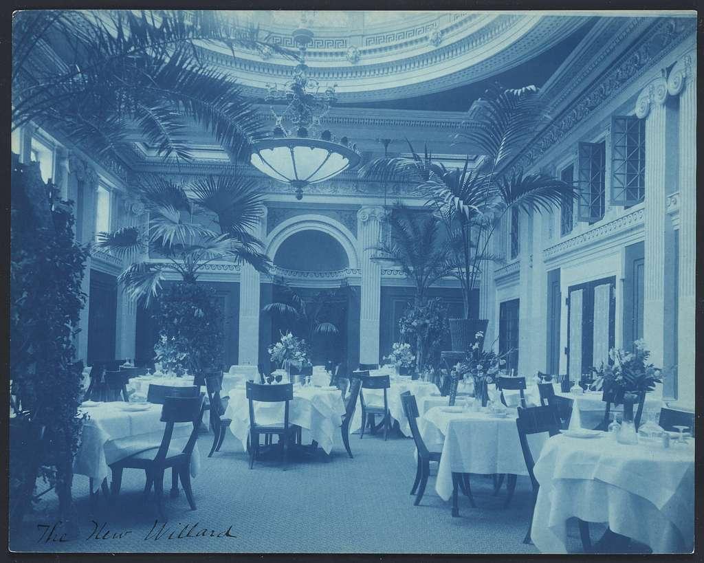 [Willard Hotel - dining room]