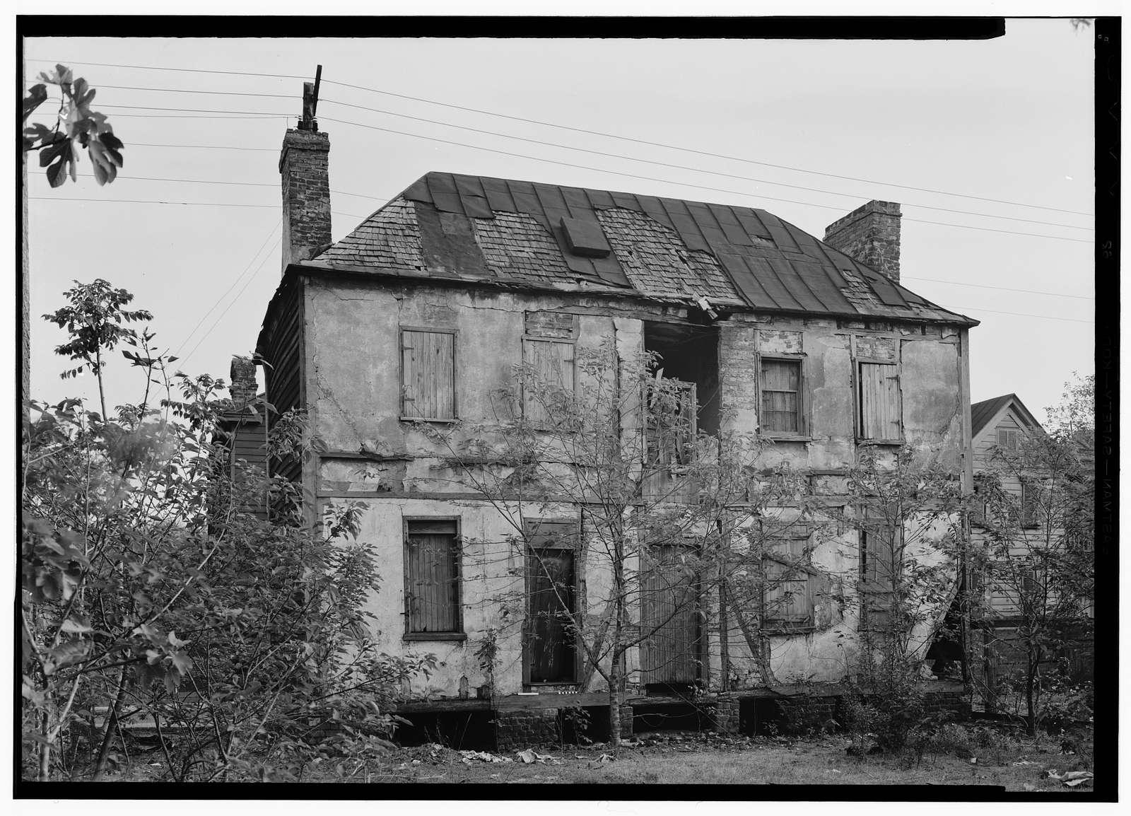 4 Magazine Street (House), Charleston, Charleston County, SC