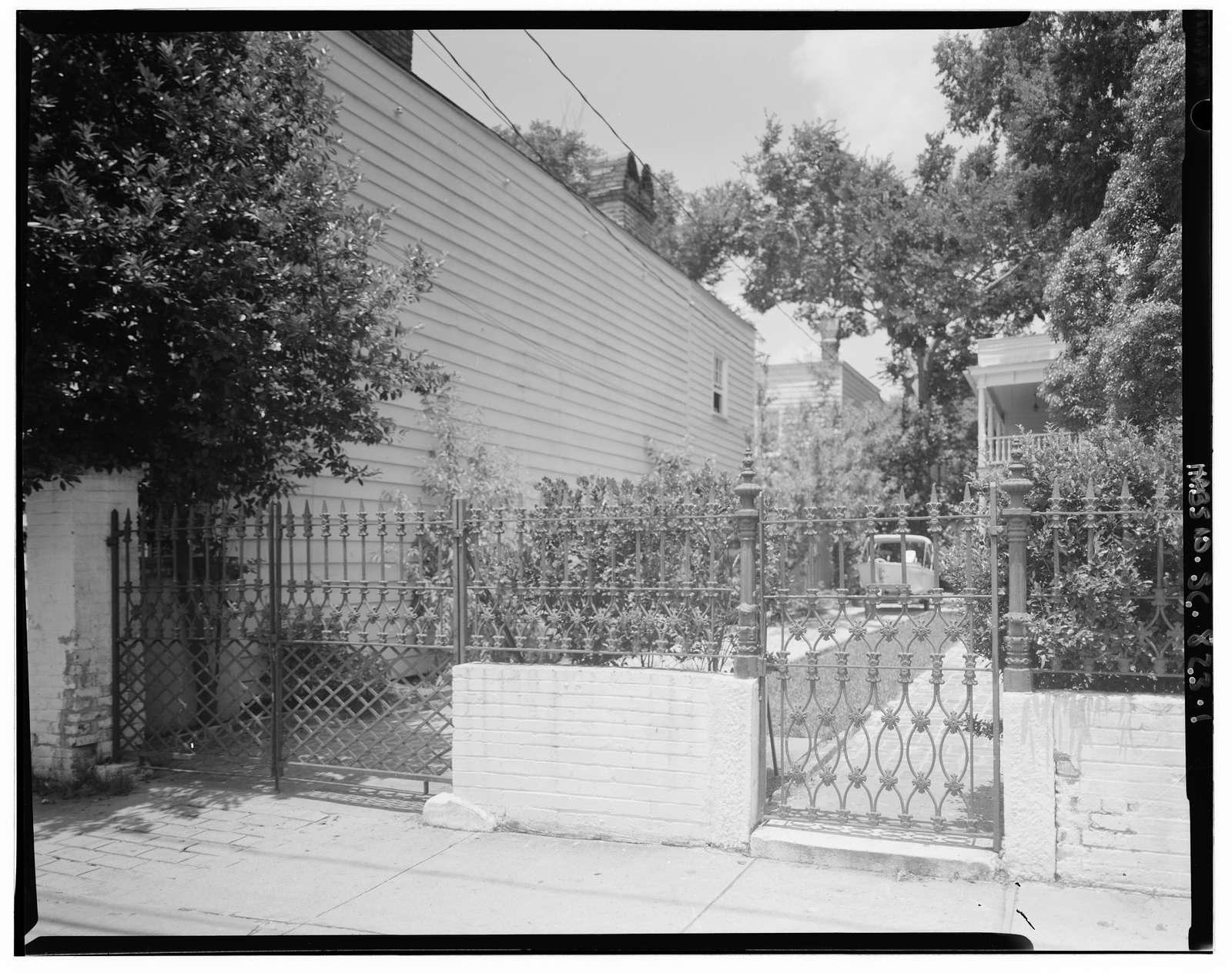 52 Bull Street (Gate), Charleston, Charleston County, SC
