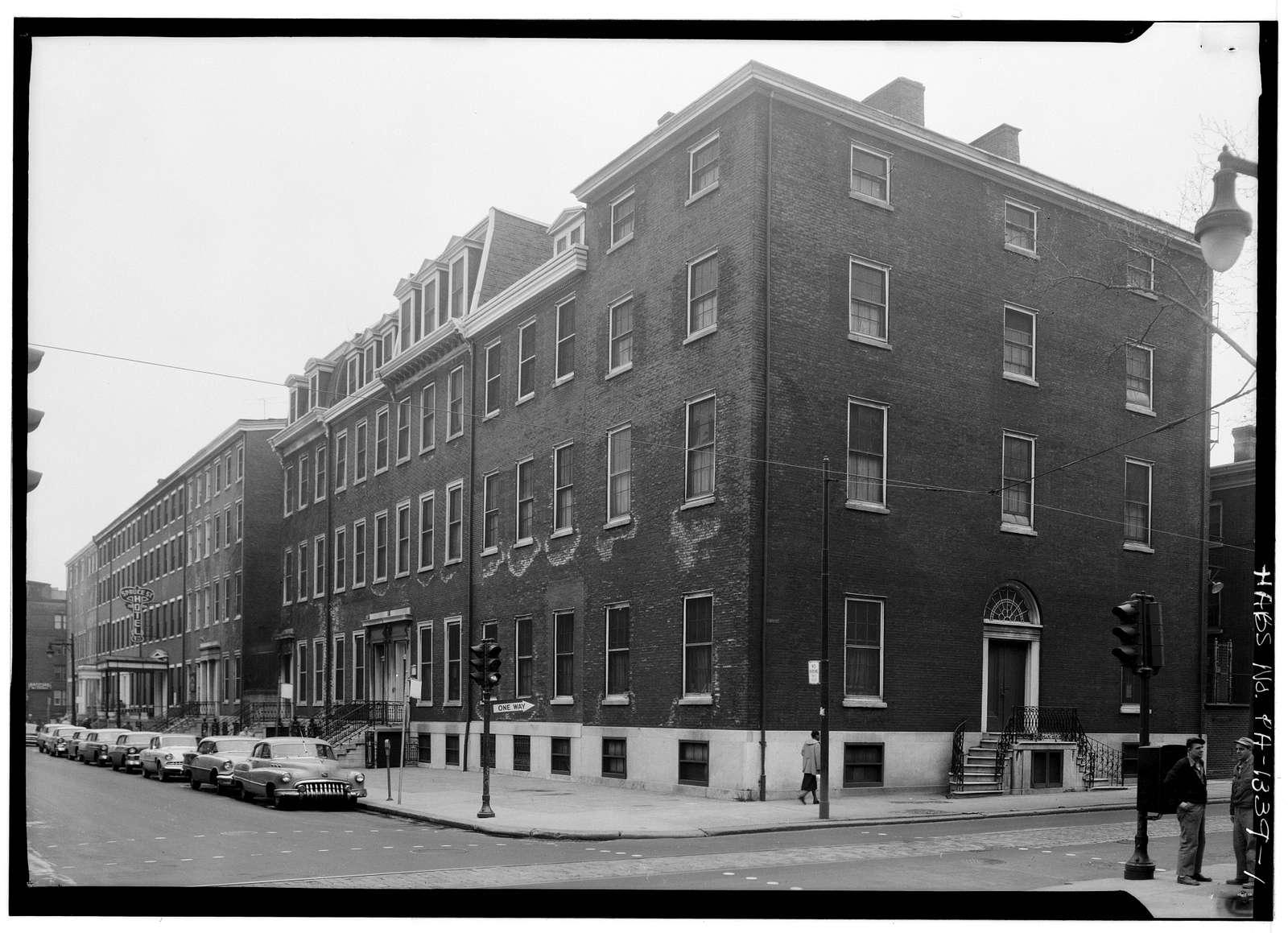 722-730 Spruce Street (Houses), Philadelphia, Philadelphia County, PA