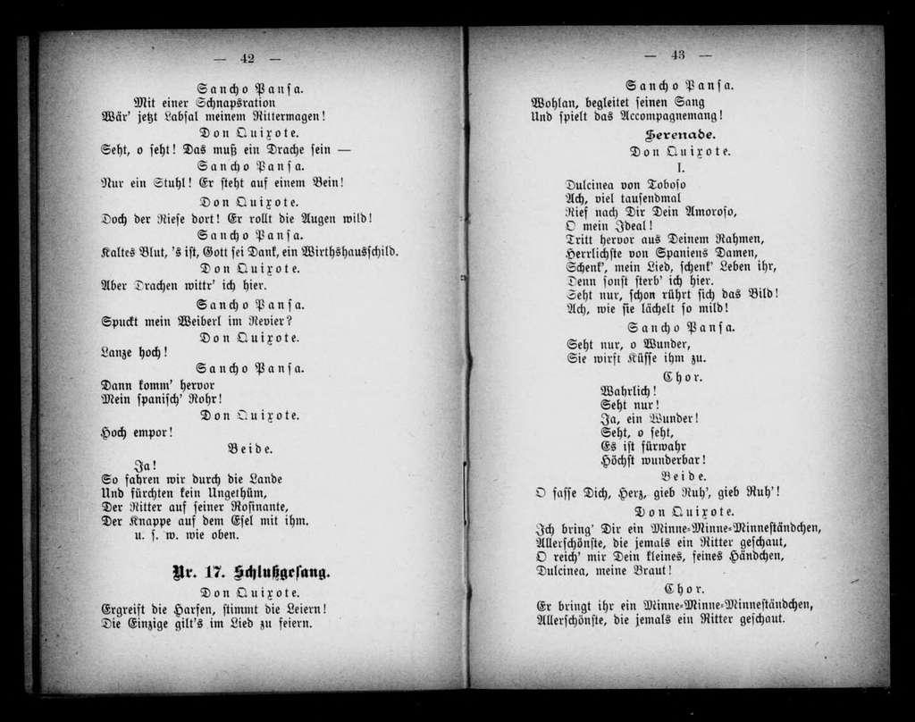 Adam und Eva. Libretto. German
