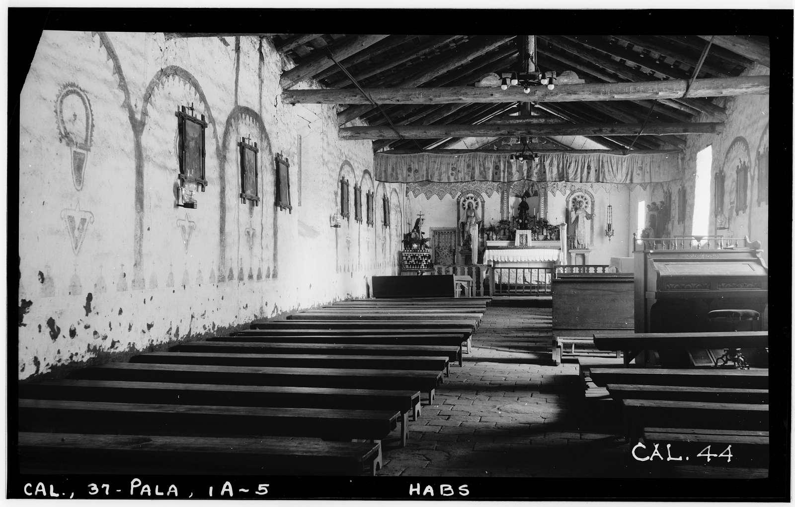 Asistencia of San Antonio de Pala, Mission Road, Pala, San Diego County, CA