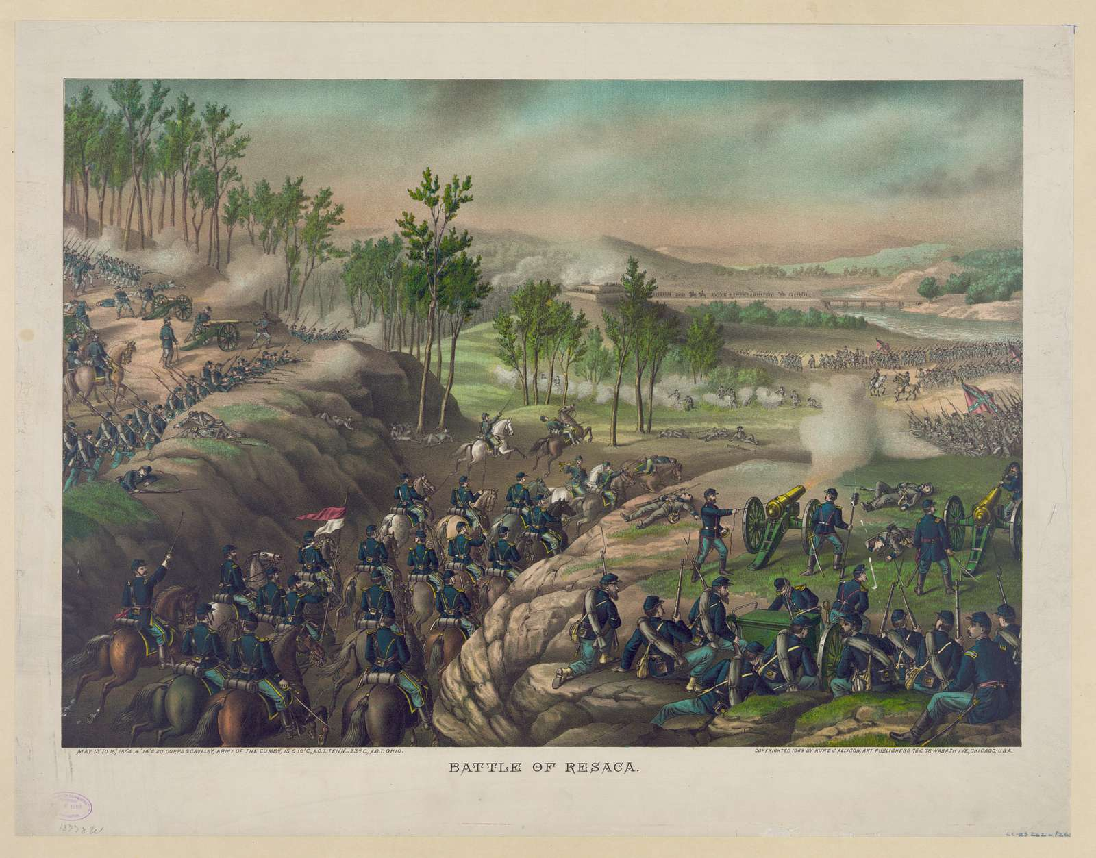 Battle of Resaca--May 13 to 16, 1864 ...