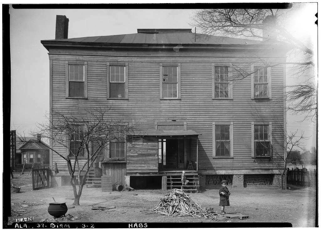 Benjamin Pinckney Worthington House, Sixth Avenue South, Birmingham, Jefferson County, AL