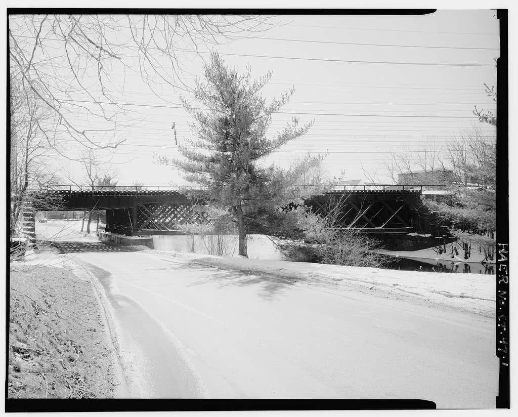 Bridge No. 110, Spanning Wepawaug River & Prospect Street at Metro-North Railroad, Milford, New Haven County, CT
