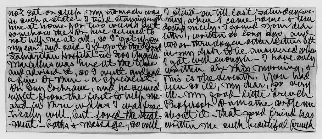 Clara Barton Papers: Miscellany, 1856-1957; Barton (Clara) Memorial Association; Correspondence, 1911-1940