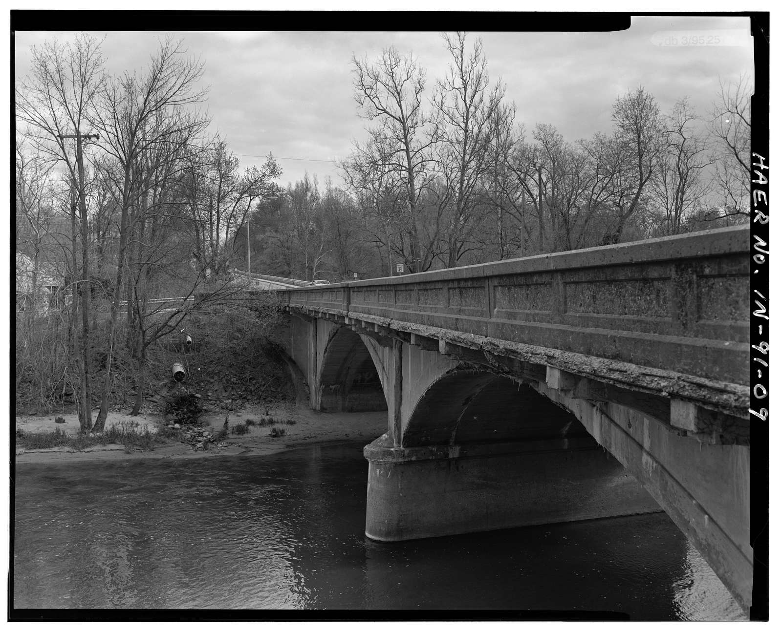 Delphi Bridge on U.S. Route 421, Spanning Deer Creek at U.S. Route 421, Delphi, Carroll County, IN
