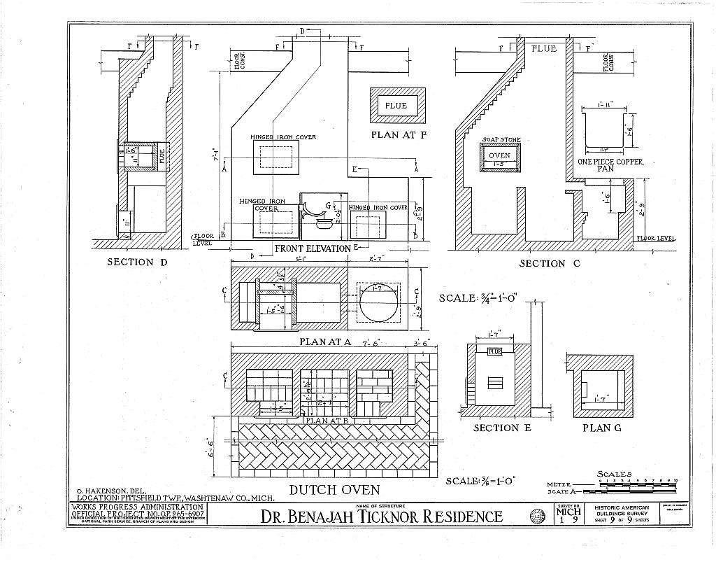 Dr. Benajah Ticknor House, 2781 Packard Street, Ann Arbor, Washtenaw County, MI