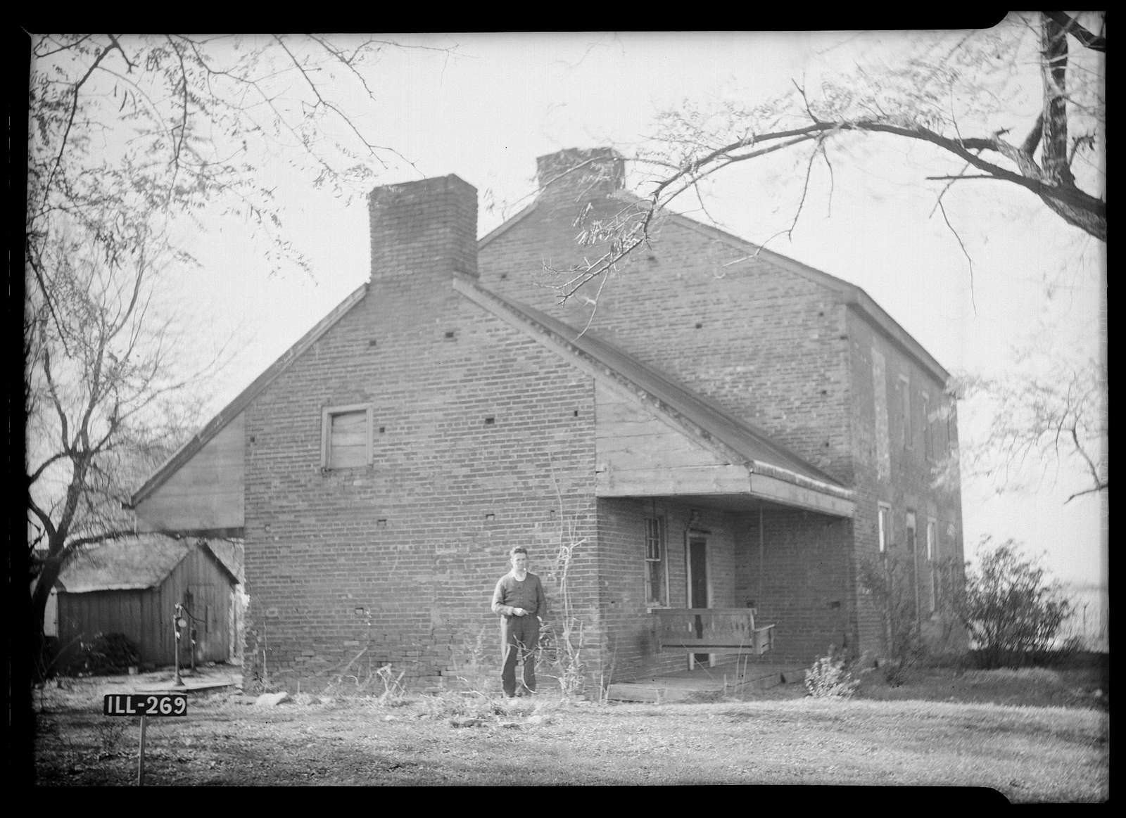 Dr. F. C. Fink House, State Route 125, Pleasant Plains, Sangamon County, IL