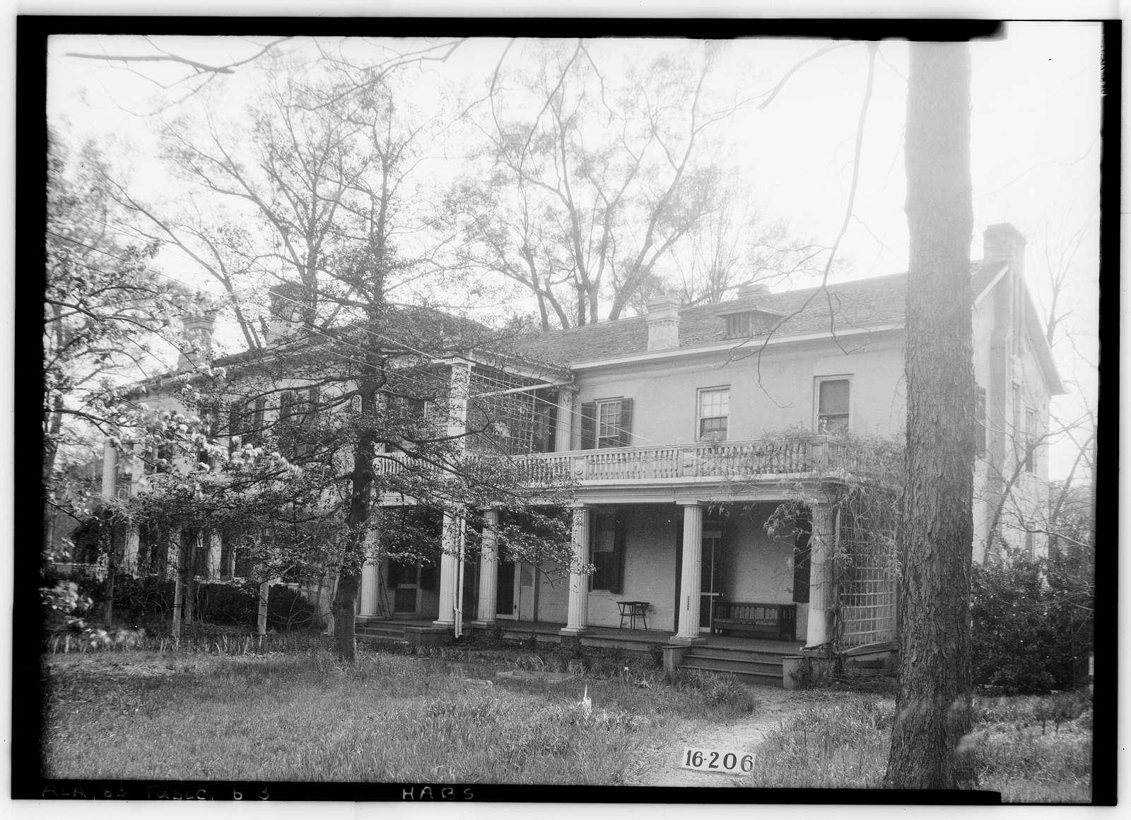 E. N. C. Snow House, 2414 Eighth Street, Tuscaloosa, Tuscaloosa County, AL