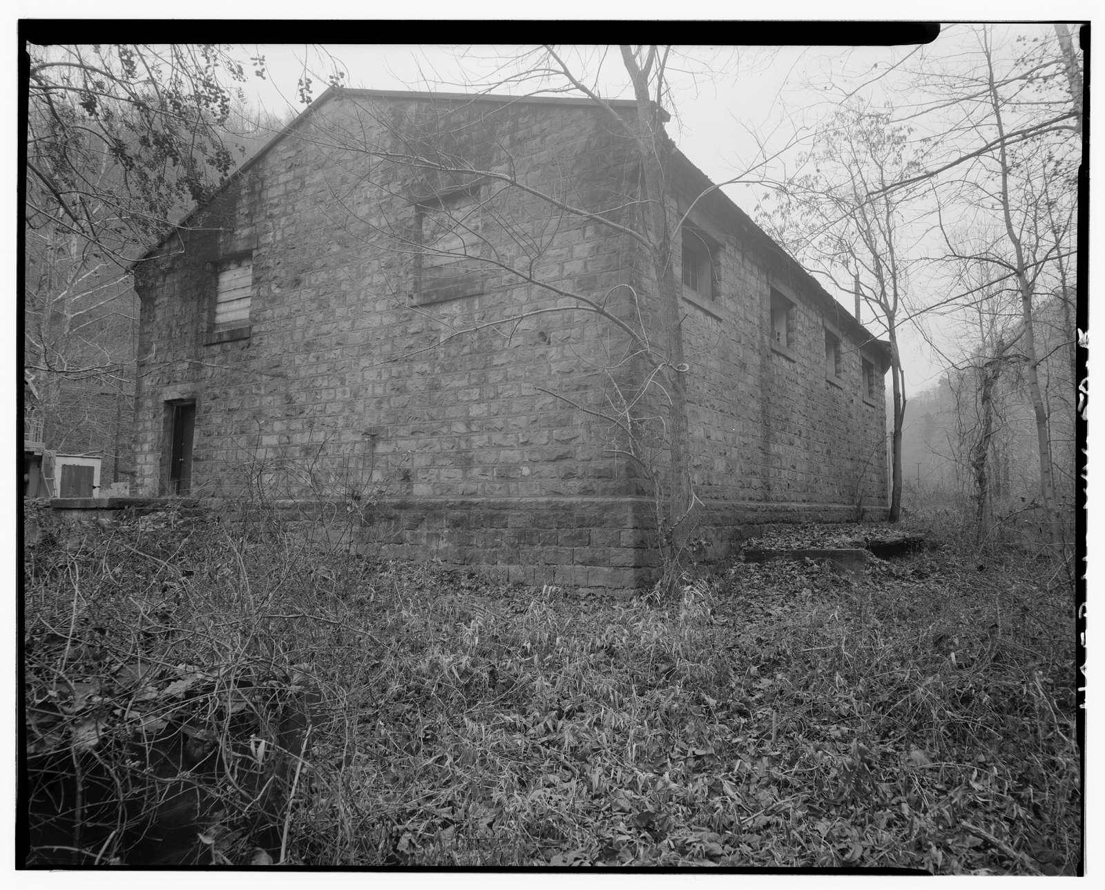 Ethel Coal Company & Supply Building, Left fork of Dingess Run (Ethel Hollow), Ethel, Logan County, WV