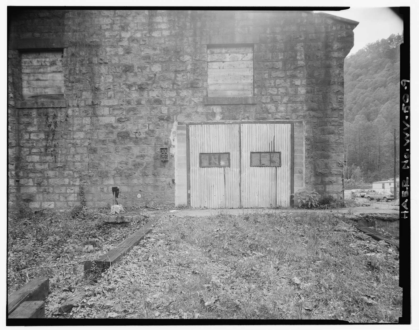 Ethel Coal Company & Supply Building, Left fork of Dingess Run (Ethel Hollow), Ethel, Logan County, WV
