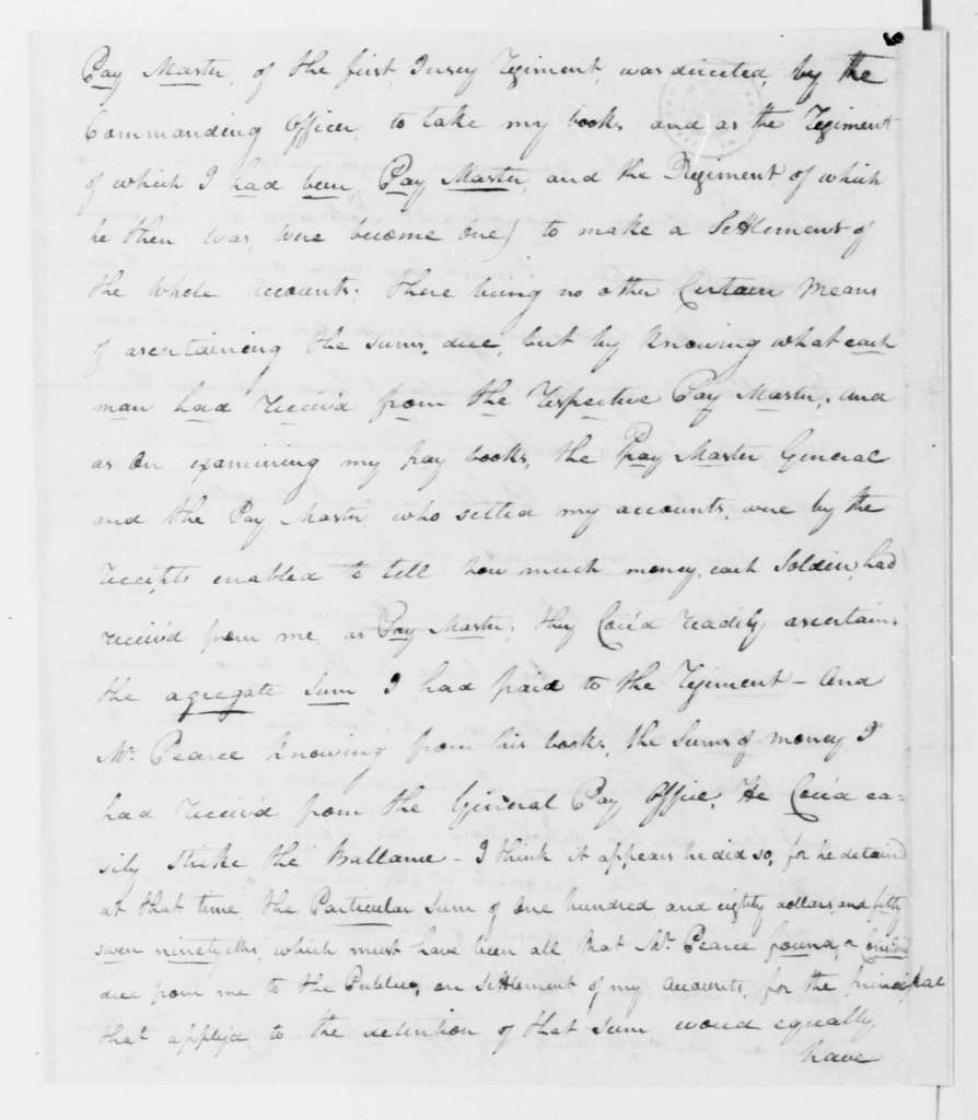 George Washington Papers, Series 7, Applications for Office, 1789-1796: Joseph Anderson