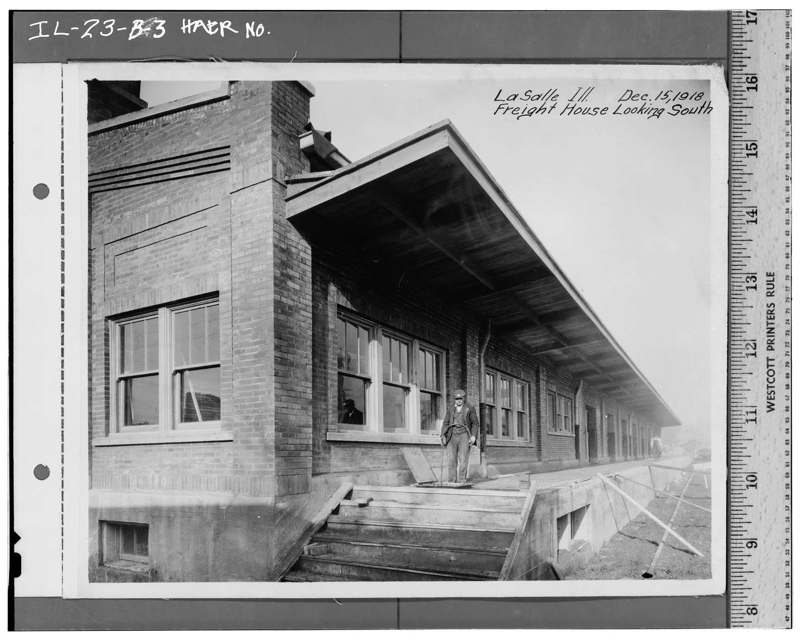 Illinois Central Railroad, Freight Depot No. 2, North of First Street, east of Union Street, La Salle, La Salle County, IL