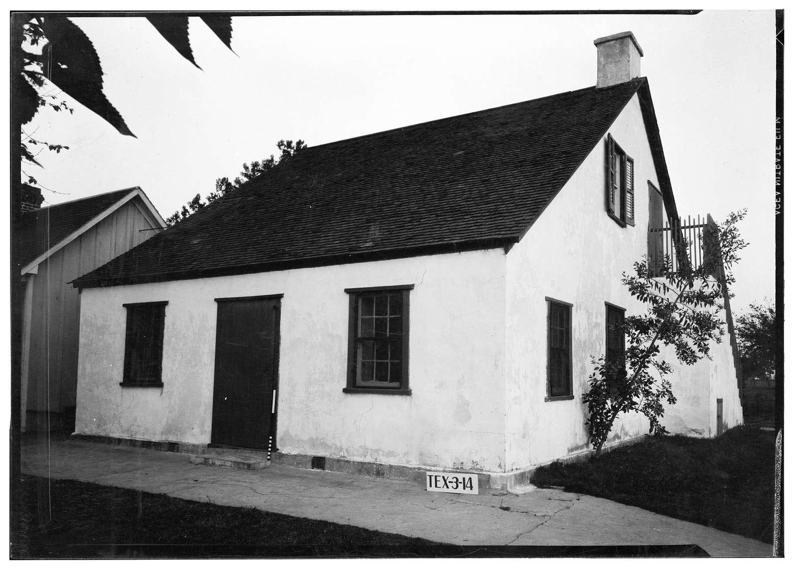Machie Pawelek House, Texas 123 at Farm Road 887, Cestohowa, Karnes County, TX