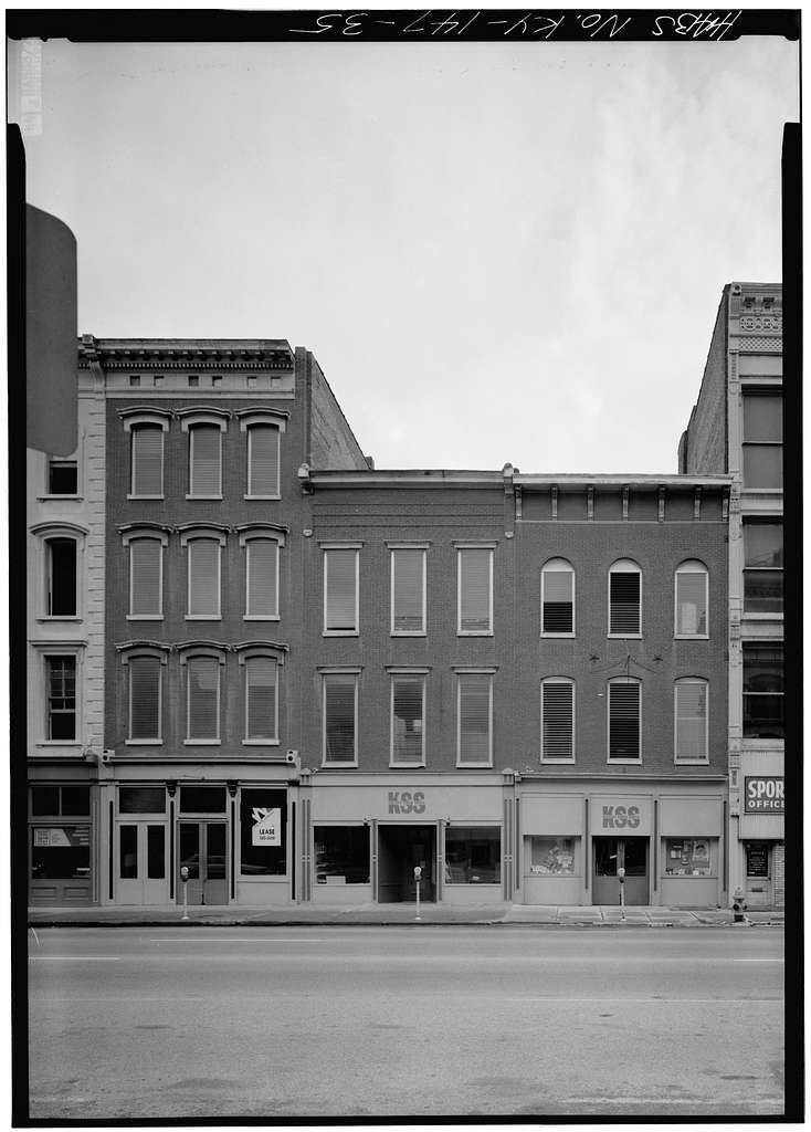 Main Street, 600 & 700 Block (Buildings), Louisville, Jefferson County, KY