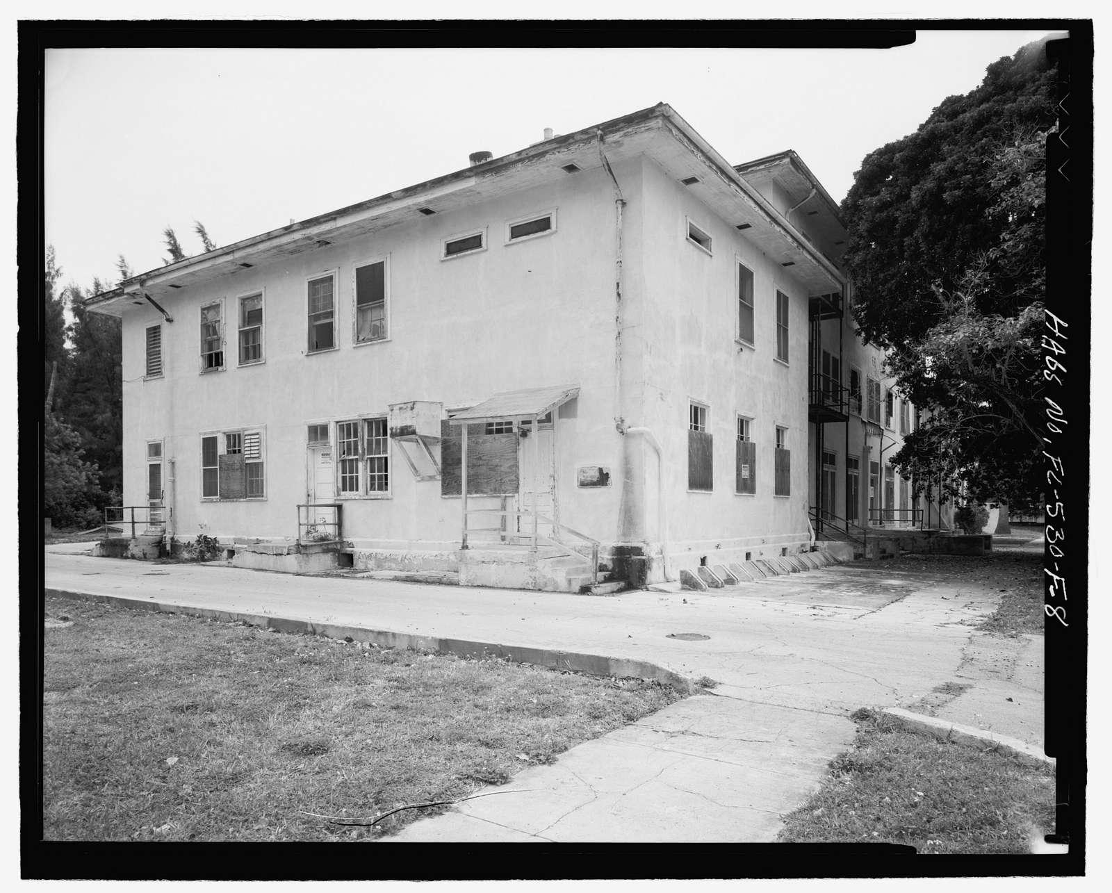 Naval Air Station Key West, Truman Annex, Seaman's Barracks, Key West, Monroe County, FL