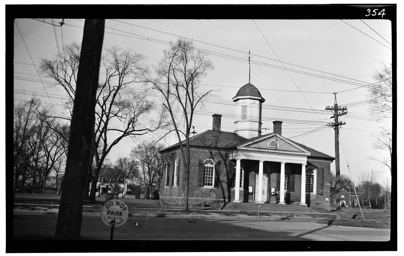 Old Courthouse, Courthouse Green, Williamsburg, Williamsburg, VA