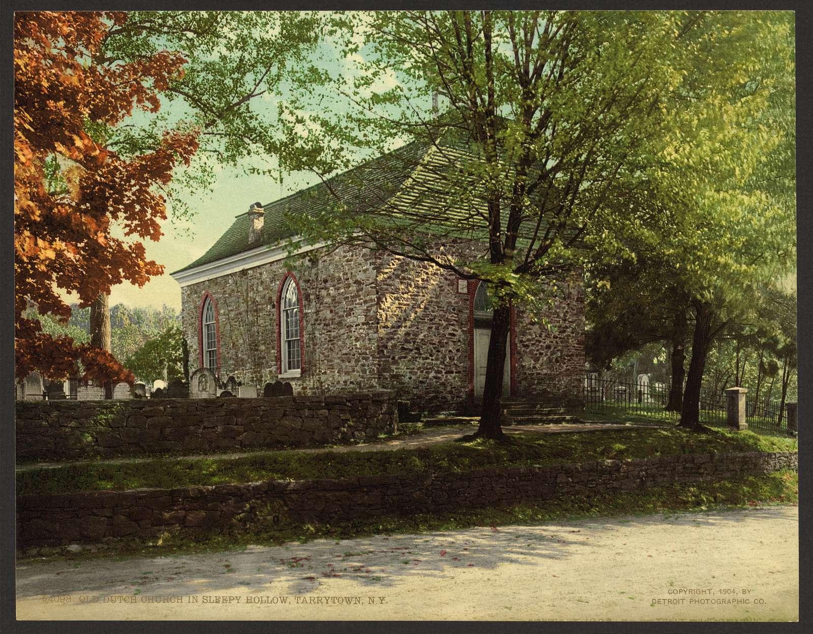 Old Dutch church in Sleepy Hollow, Tarrytown, N.Y.
