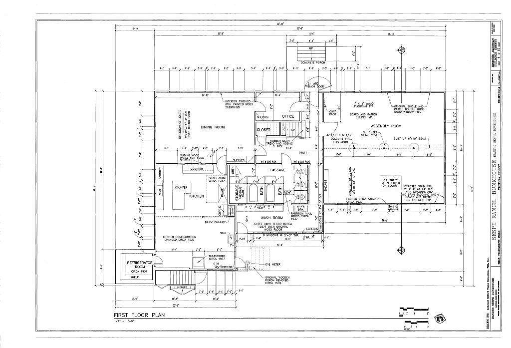 diagram of bunkhouse sespe ranch  bunkhouse  2896 telegraph road  fillmore  ventura  sespe ranch  bunkhouse  2896 telegraph