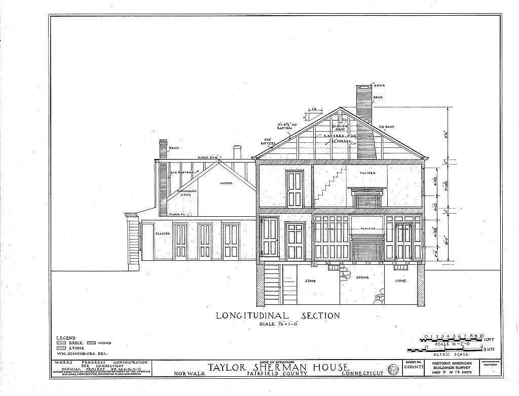 Taylor Sherman House, 89 Main Street, Norwalk, Fairfield County, CT