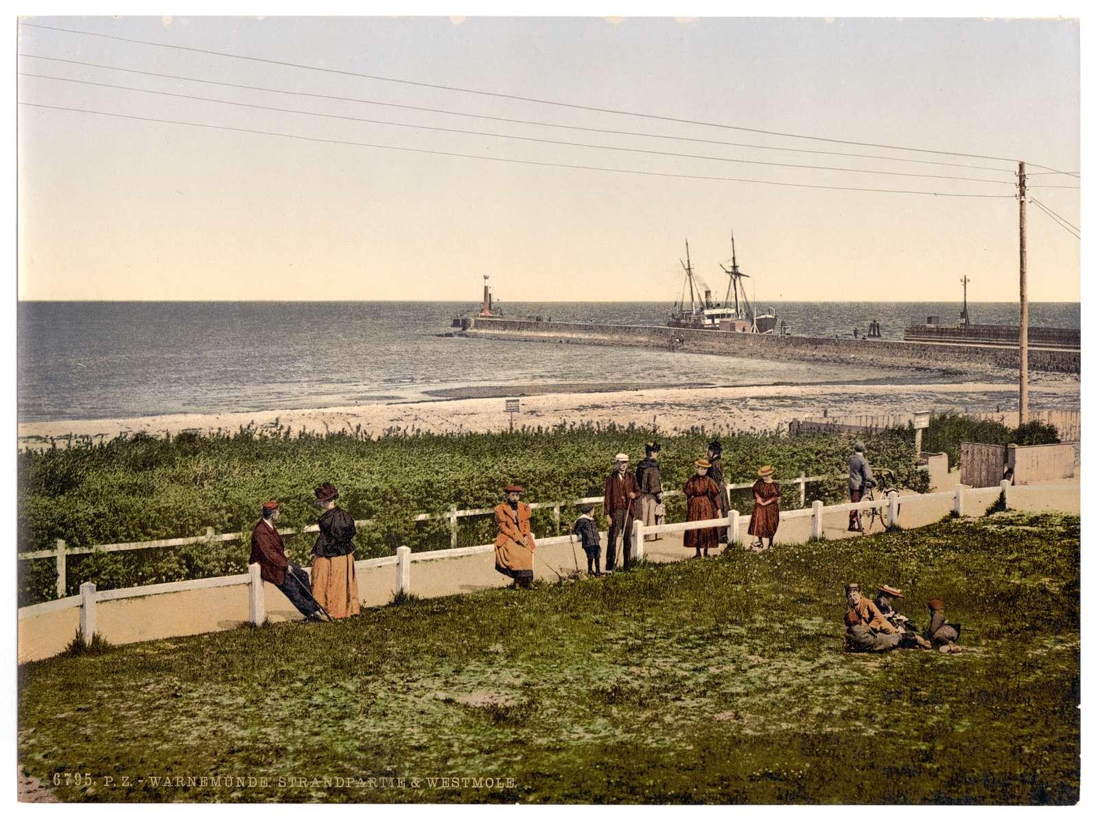 [The beach, Warnemü̈nde, Rostock, Mecklenburg-Schwerin, Germany]