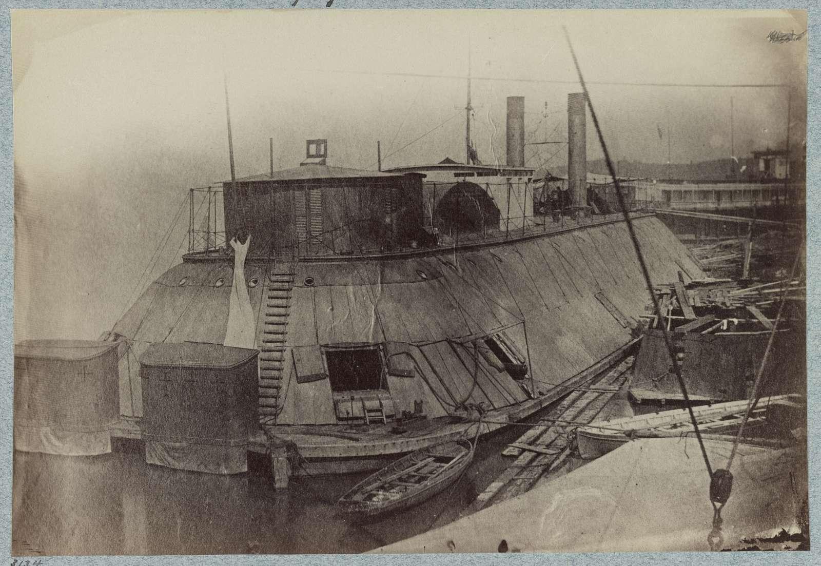 U.S. gunboat Essex - Mississippi River Fleet
