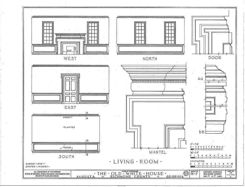 White House, 1822 Broad Street, Augusta, Richmond County, GA