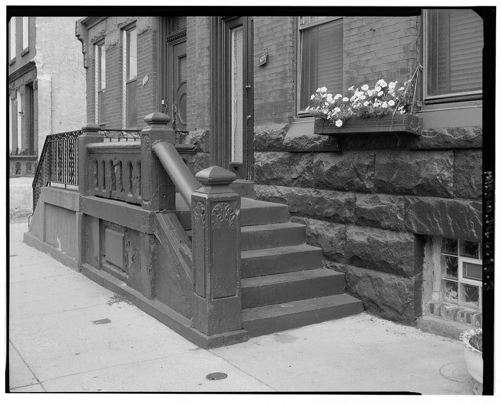 1600 Block Diamond Street (Houses), North side, Philadelphia, Philadelphia County, PA