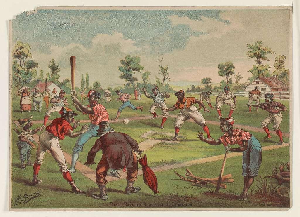 Baseball on Blackville Common