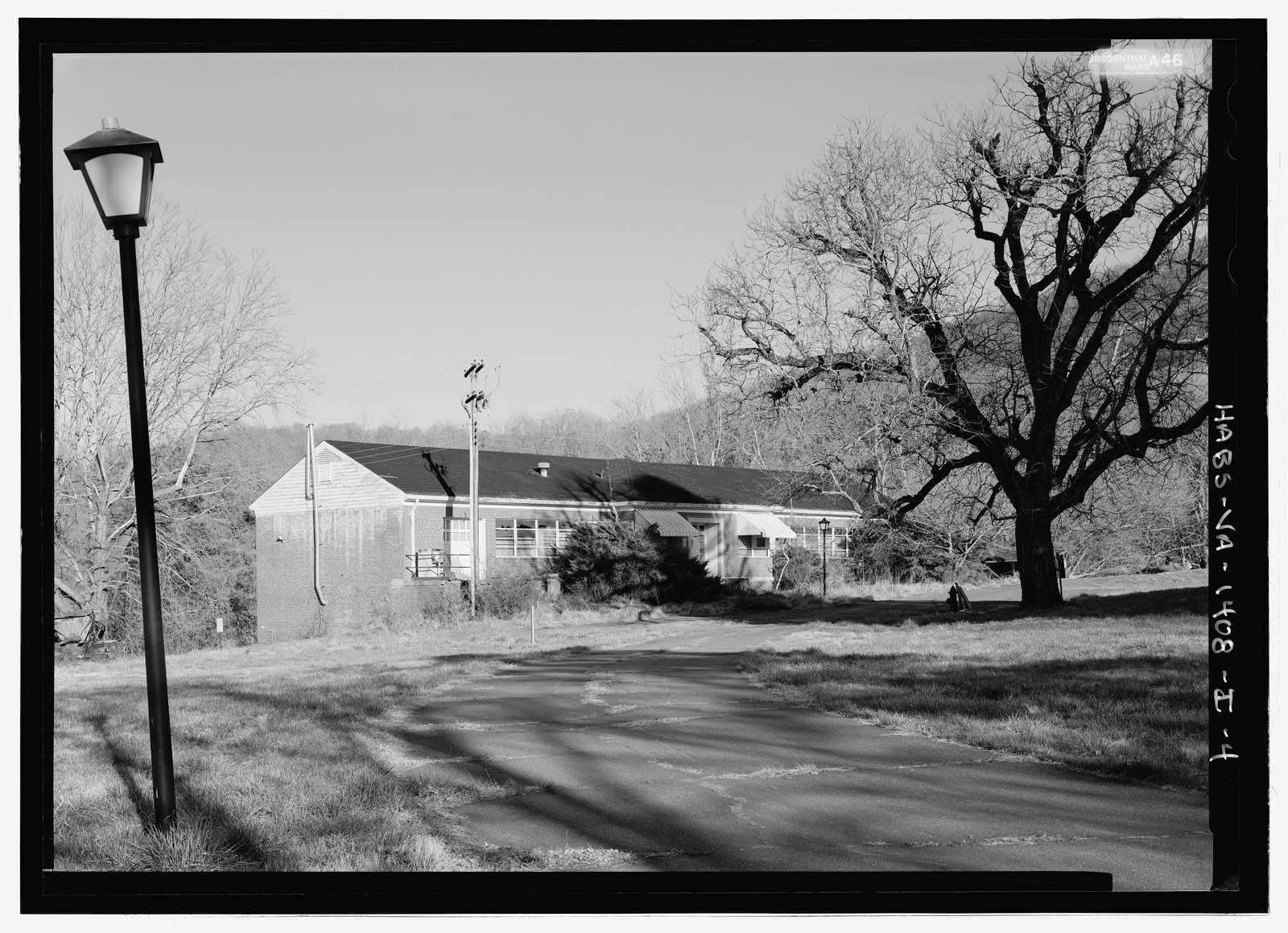 Blue Ridge Sanatorium, Building No. 1908, East side of State Route 20, .25 mile south of I-64, Charlottesville, Charlottesville, VA
