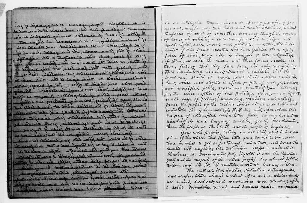 Clara Barton Papers: Letterbooks, 1876-1911; Unbound copies; 1879, Apr.-1882, Apr.