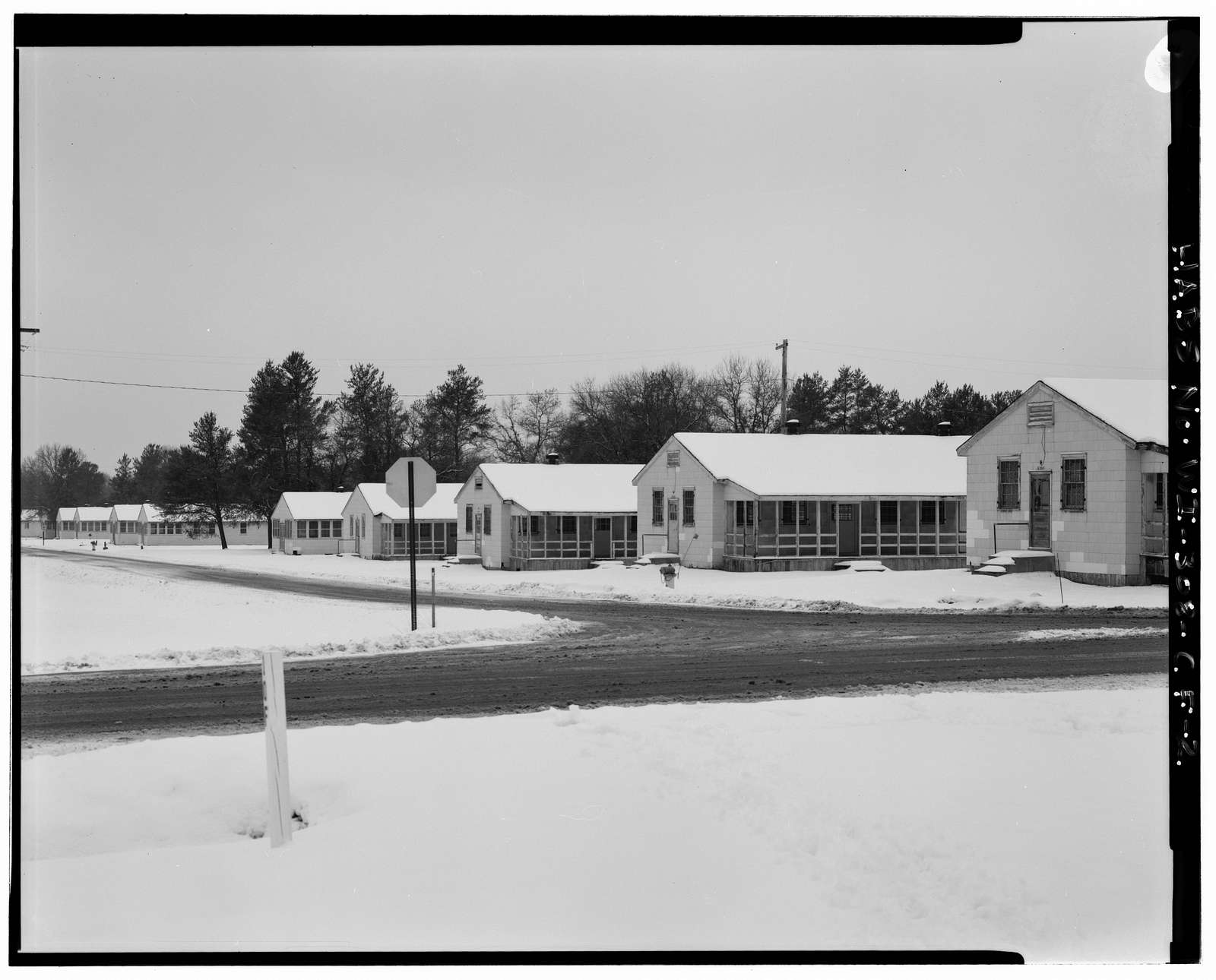 "Fort McCoy, Building No. T-1065, Northeast of Intersection of South Ninth Avenue & South ""Y"" Street, Block 10, Sparta, Monroe County, WI"