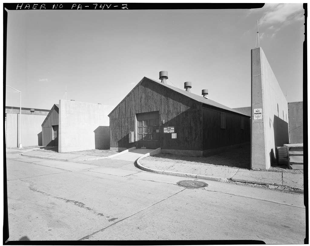 Frankford Arsenal, Building Nos. 141-143, South side Worth Road between Eakin & Walbach Streets, Philadelphia, Philadelphia County, PA