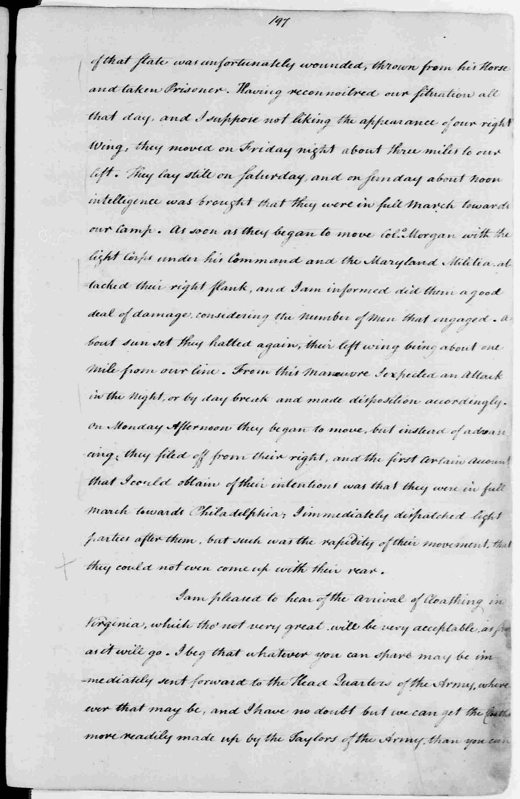 George Washington Papers, Series 3, Varick Transcripts, 1775-1785, Subseries 3C, Civil Officials and Private Citizens, Subseries 3C, Letterbook 2: Jan. 2, 1777 - June 20, 1779