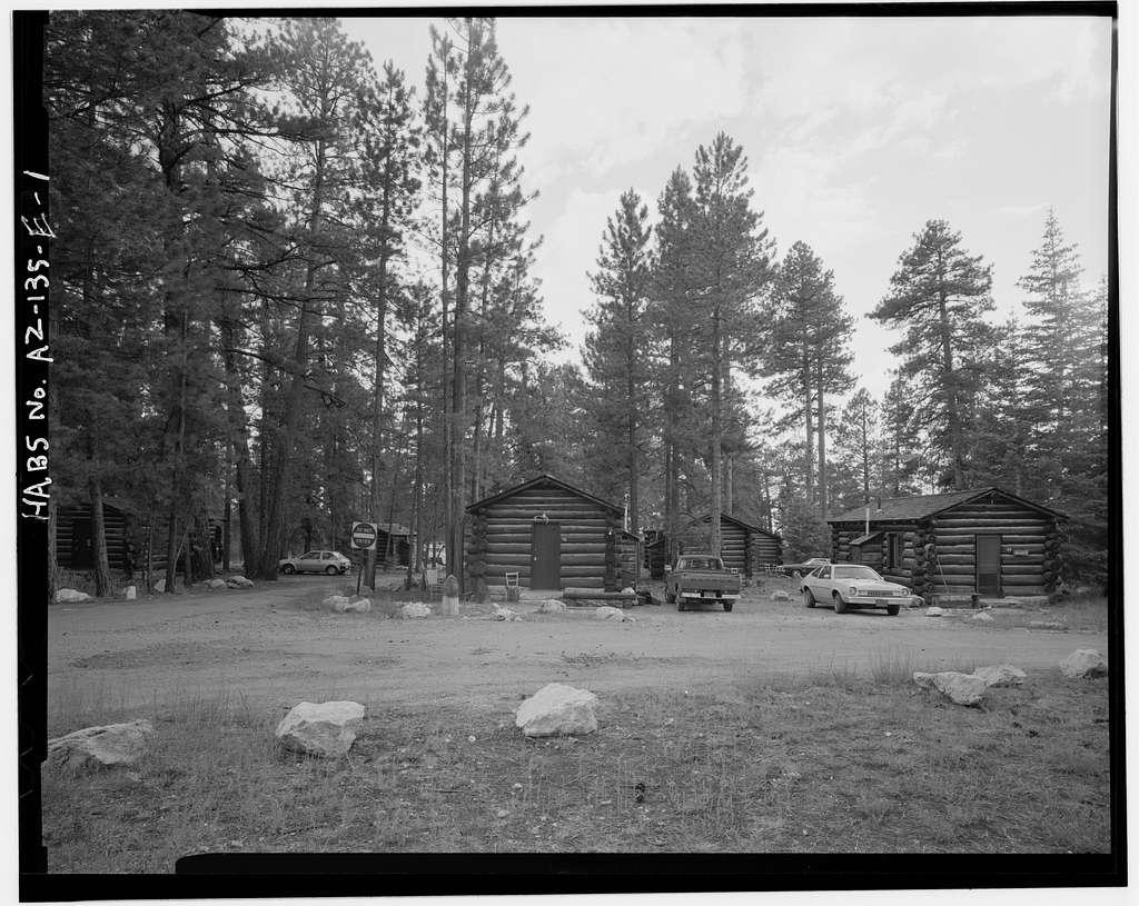 Grand Canyon Lodge, Pioneer Cabin, North Rim, Grand Canyon, Coconino County, AZ