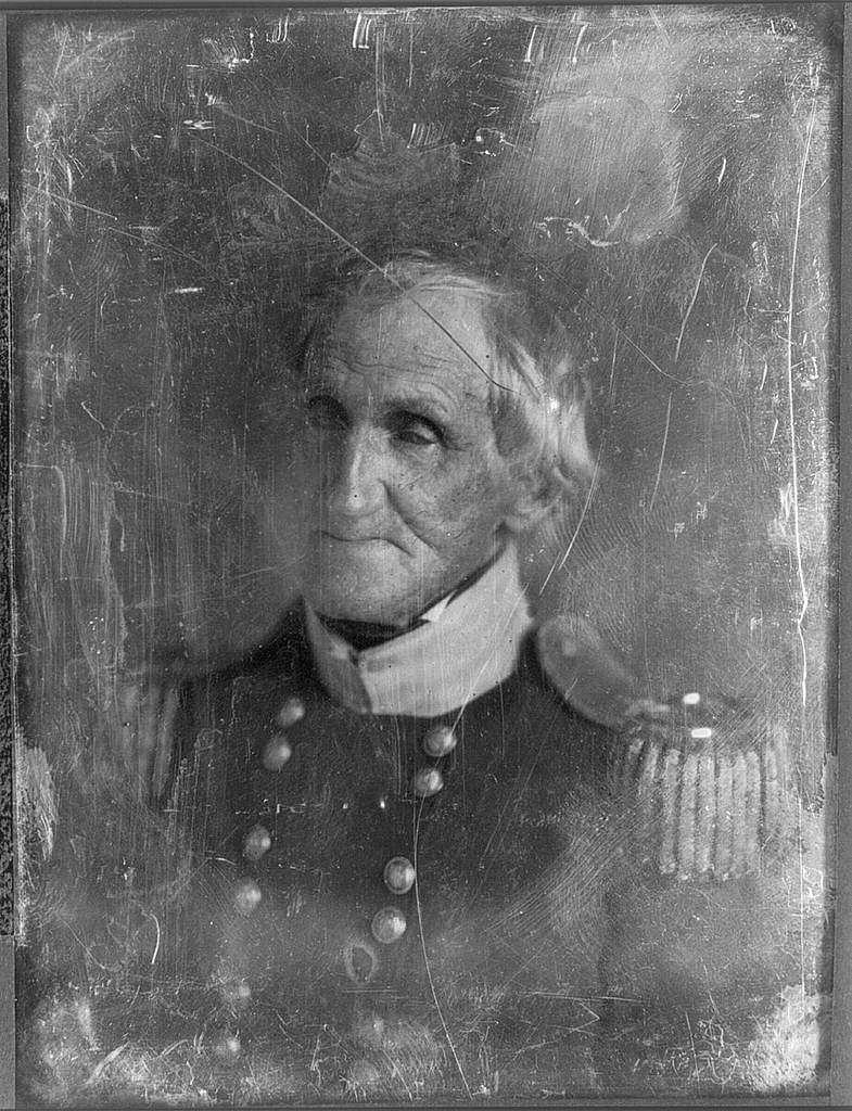 [Hugh Brady, head-and-shoulders portrait, facing three-quarters left, in military uniform]